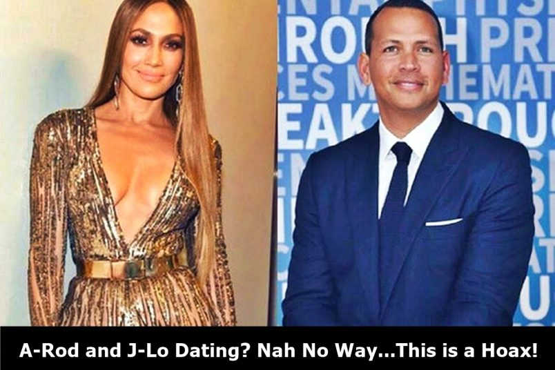Hold Up; Alex Rodriguez and J-Lo Romantically Linked