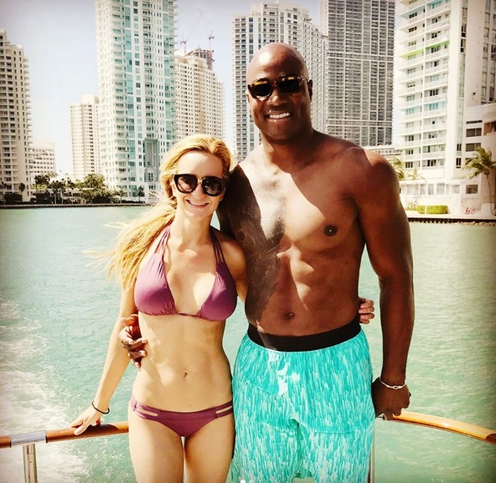DeMarcus Ware Shirtless with New Woman After Retiring