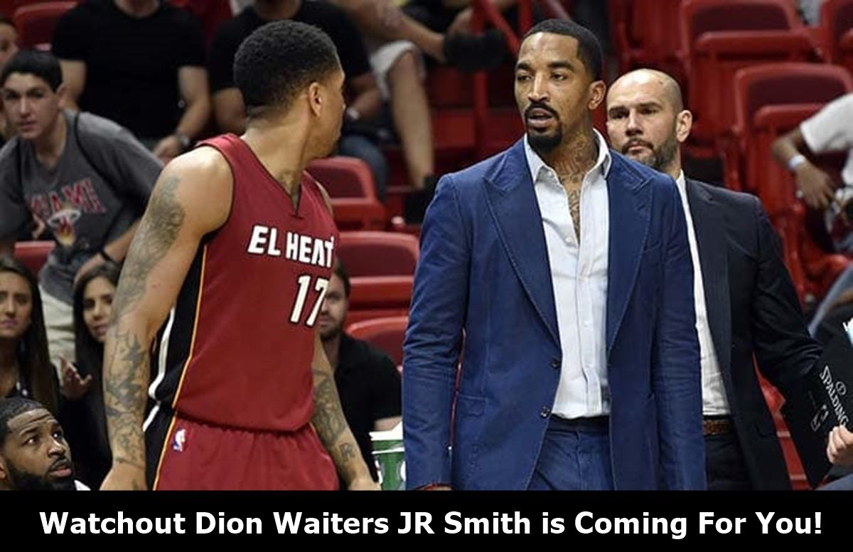 JR Smith + Dion Waiters Shout Match Gets HEATED
