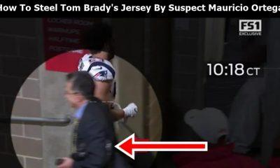 How To Steel Tom Brady's Jersey By Suspect Mauricio Ortega