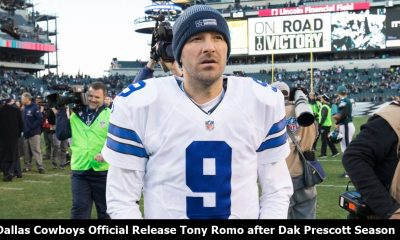 Dallas Cowboys Release Tony Romo