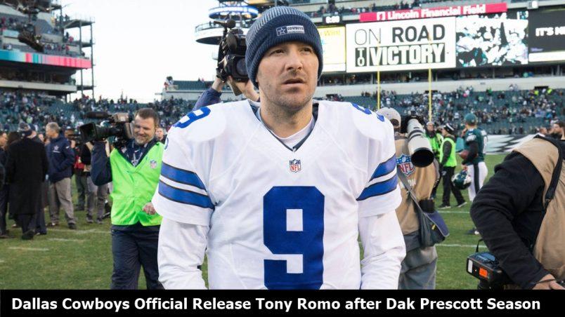 Dallas Cowboys Release Tony Romo