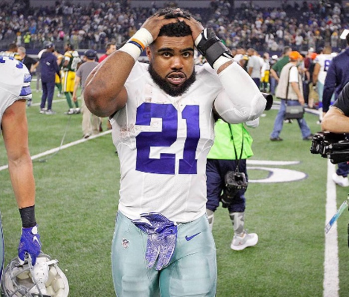 Ezekiel Elliott Nicknamed Zeke the Creep After Exposing Woman's Breasts
