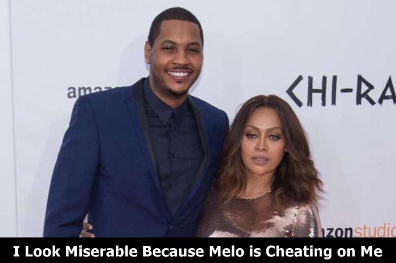 "Carmelo Anthony Justifies CHEATING ""LaLa is Married, I'm NOT"""