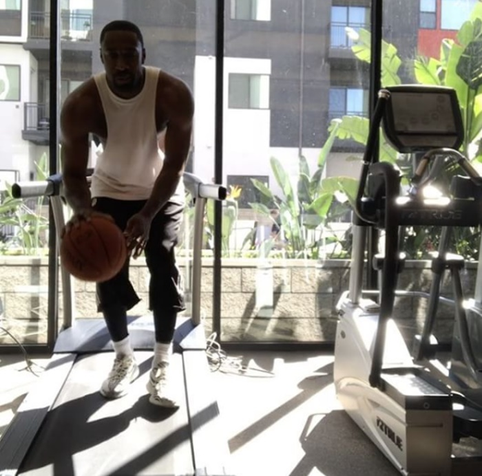 Gilbert Arenas Takes NBA Training To Another Level