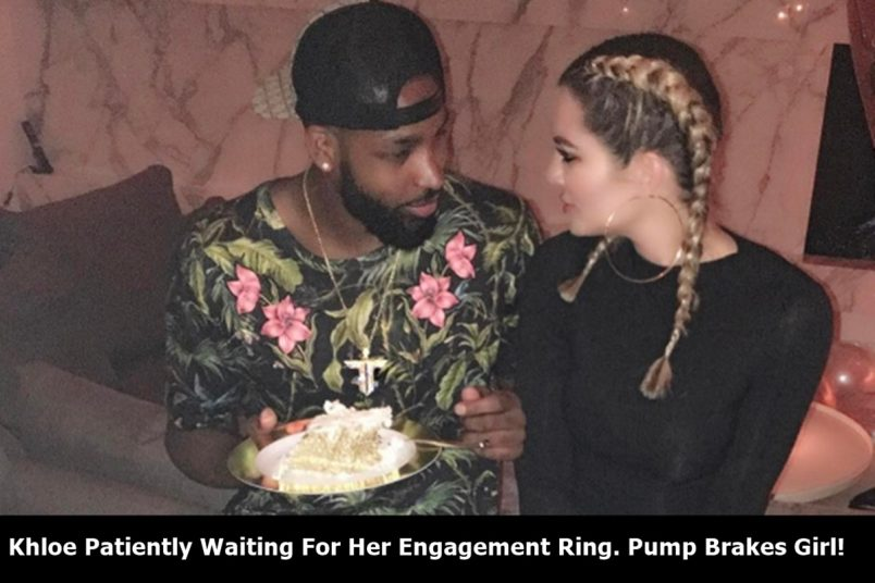Khloe Kardashian Pressing For Proposal From Tristan Thompson