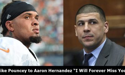 """Mike Pouncey Last Words to Aaron Hernandez """"I Will Forever Miss You"""""""