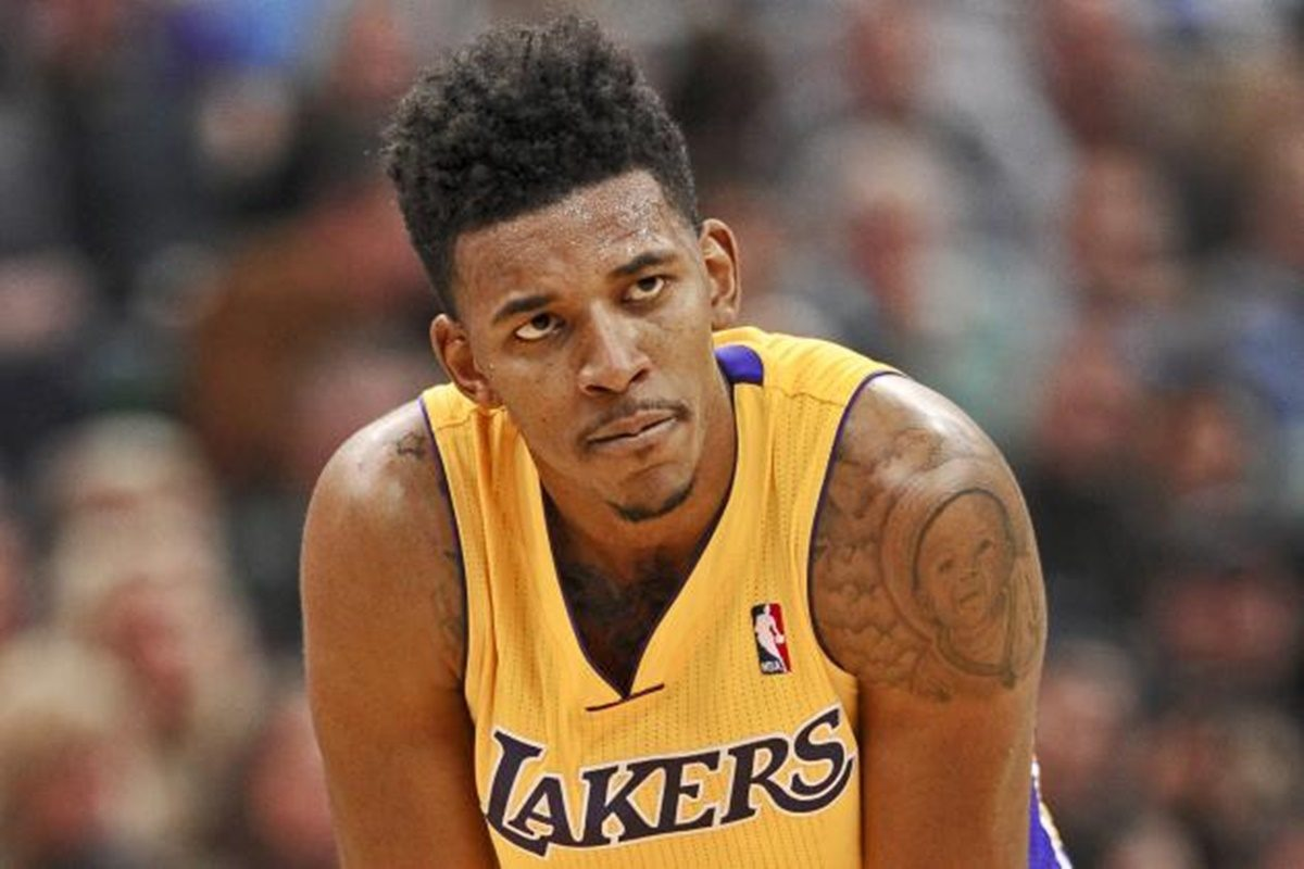'50 Shades of Nick': Nick Young Hog Tied Photo Surfaces