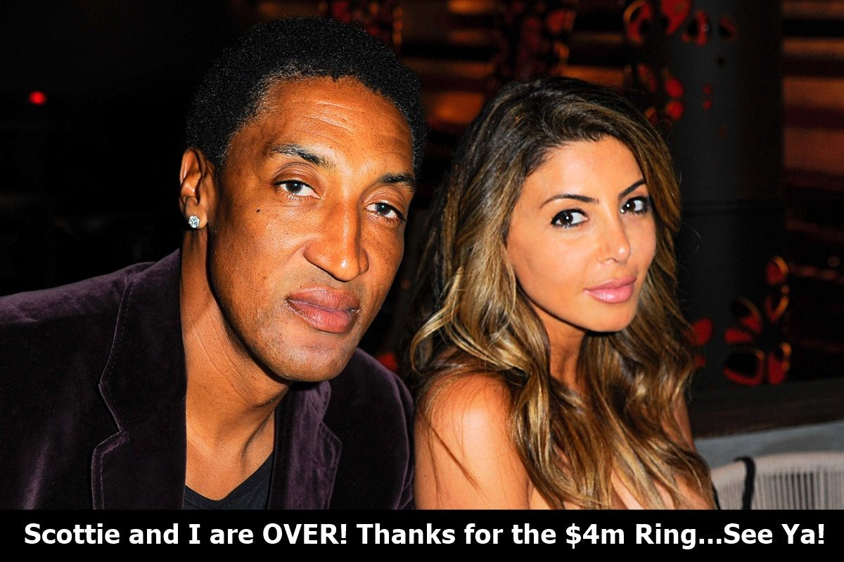 Larsa Pippen $4M Ring NOT Enough To Stay Married to Scottie Pippen