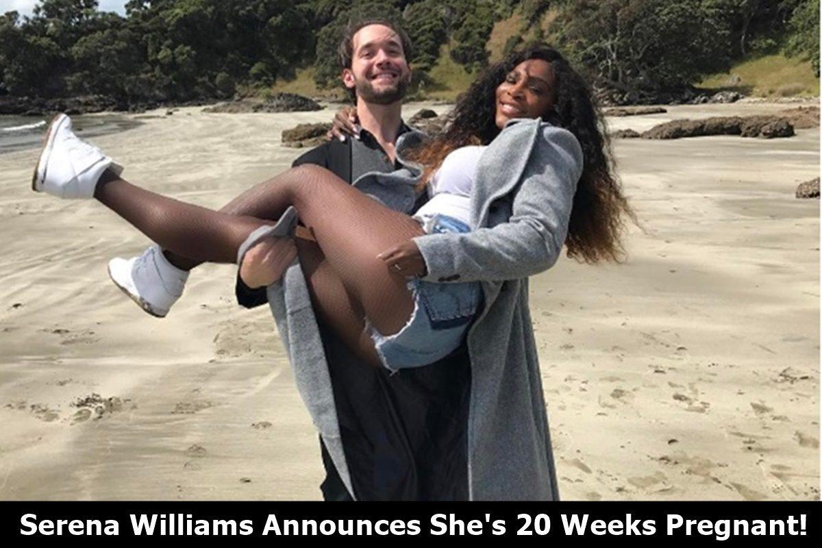 Serena Williams 20 Weeks Pregnant