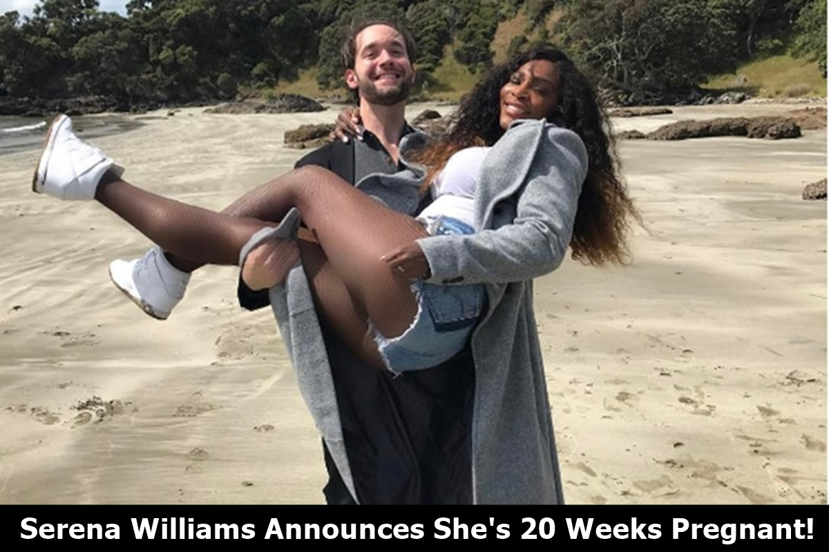Serena Williams 20 Weeks Pregnant
