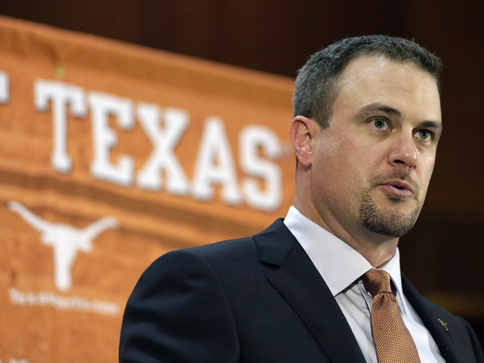 Texas Football coach Tom Herman Pee Shames