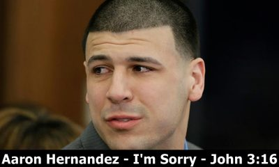 Aaron Hernandez John 3:16 Written in Blood on His Forehead