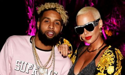 "Amber Rose Confirms Odell Beckham Jr ""Is 150% NOT Gay"""