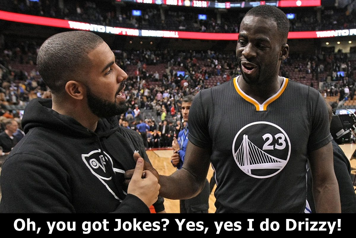 Drake and Draymond Green Mock Each Other
