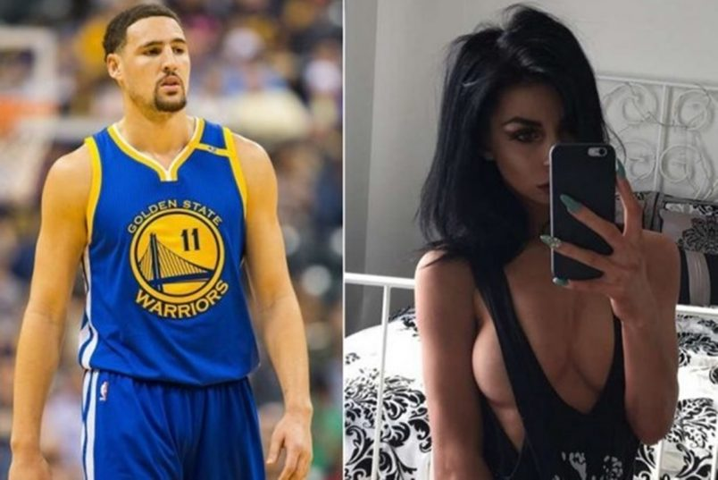 Klay Thompson Caught Trolling For OPP