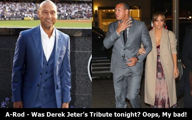 A-Rod No-Shows on Derek Jeter's Special Night