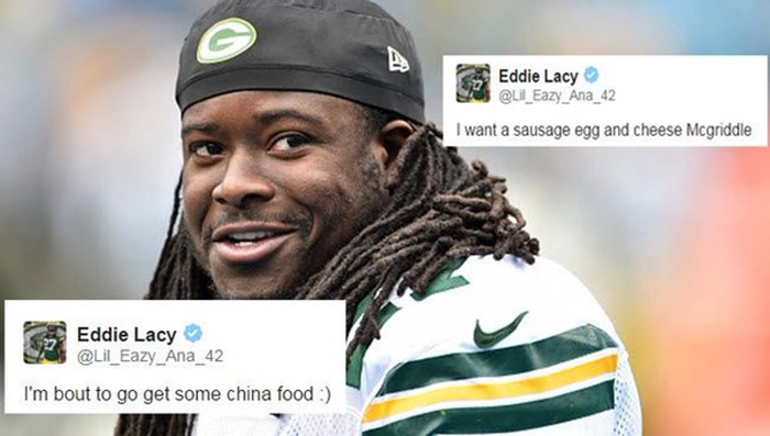 Eddie Lacy Just Made $55K For NOT Getting Fat