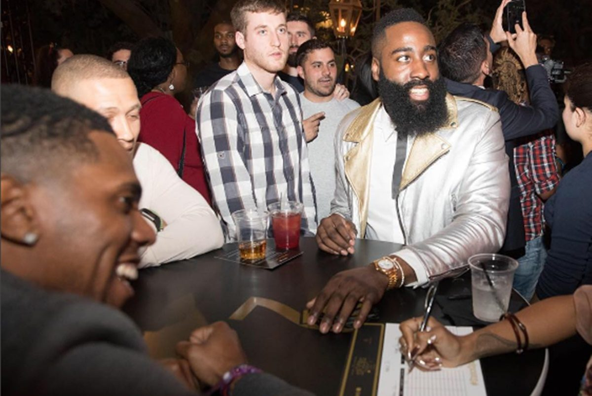 James Harden Gets Down Partying Like Johnny Manziel
