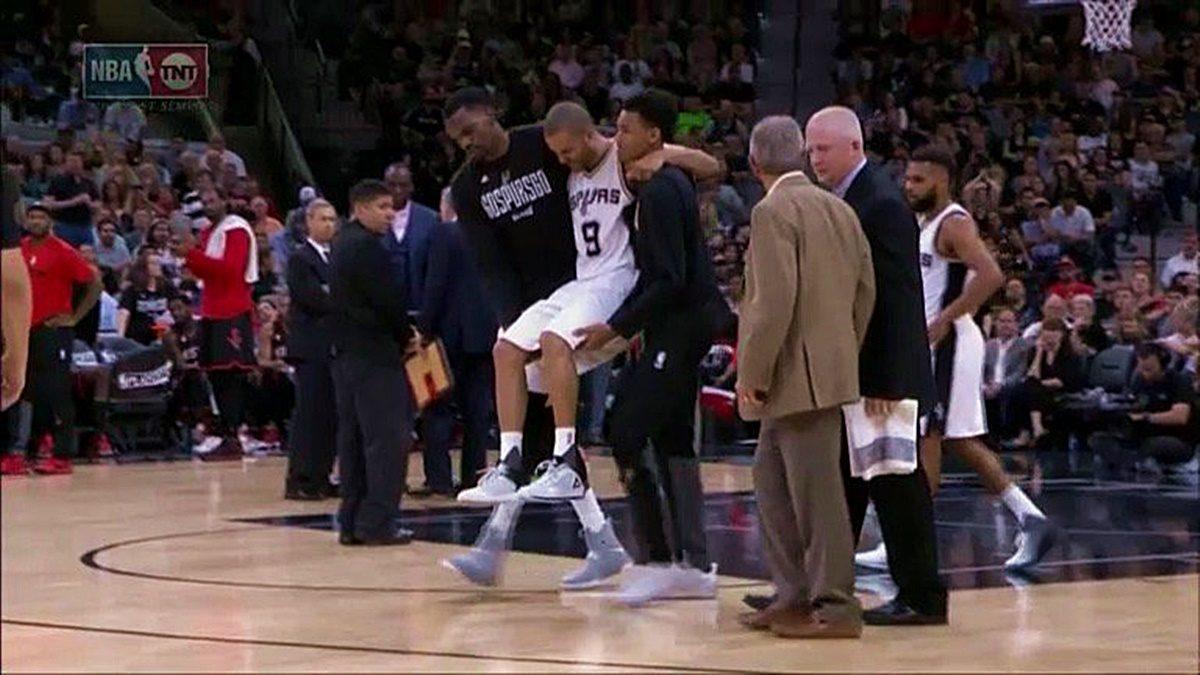"""Tony Parker Knee Injury: """"NOT Good"""""""