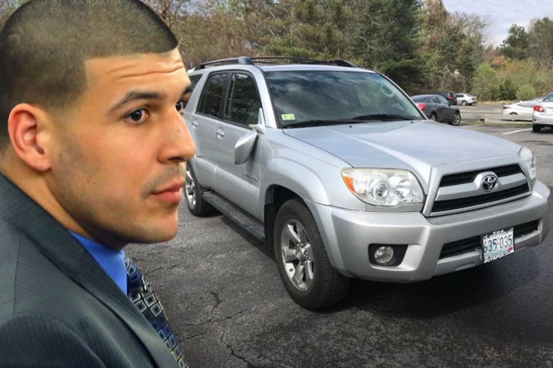Aaron Hernandez Murder SUV Auction STOPPED by eBay