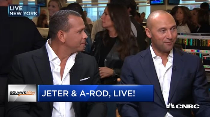 A-Rod and Derek Jeter Try To Talk Charity At BTIG NOT RUMORS CNBC