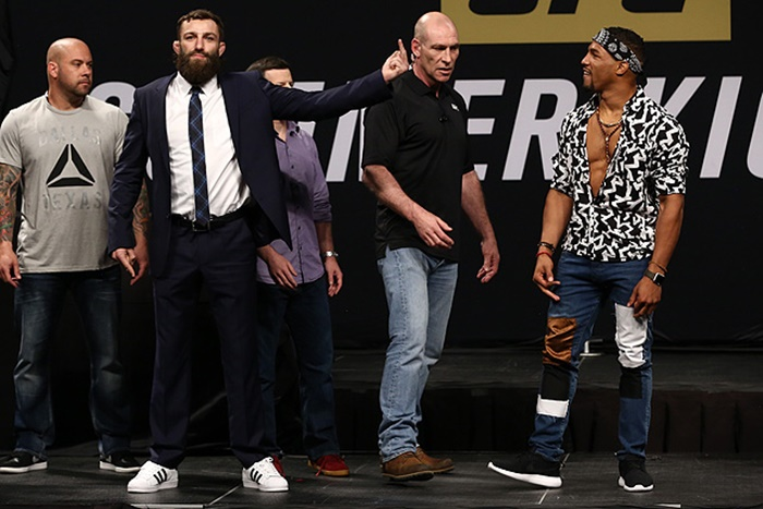 """Michael Chiesa vs Kevin Lee """"Don't Talk About my Mom"""""""