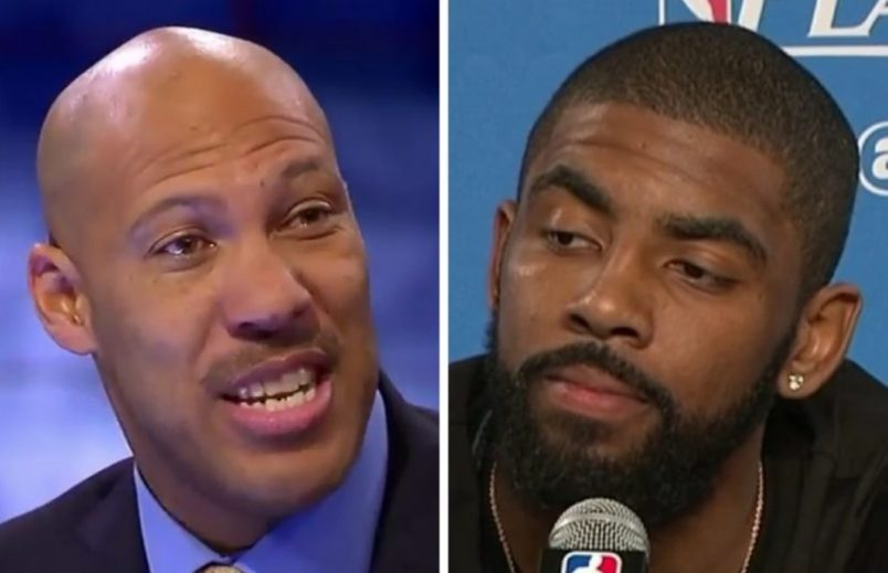 LaVar Ball Disrespects Kyrie Irving's Dead Mother