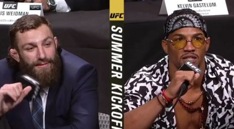 "Michael Chiesa vs Kevin Lee ""Don't Talk About my Mom"""