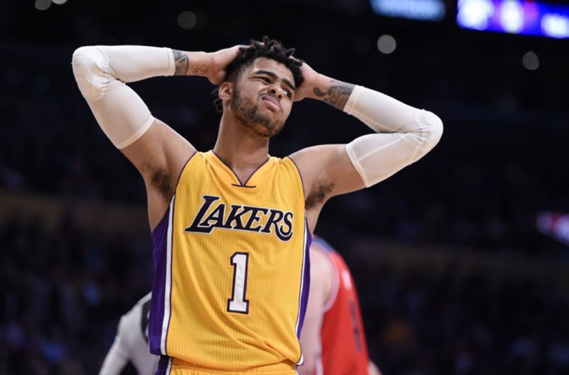 Magic Johnson Weighs In on D'Angelo Russell Exit