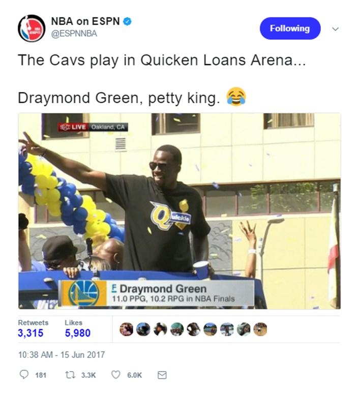 LeBron James Savagely Calls Draymond Green 1-Minute Man