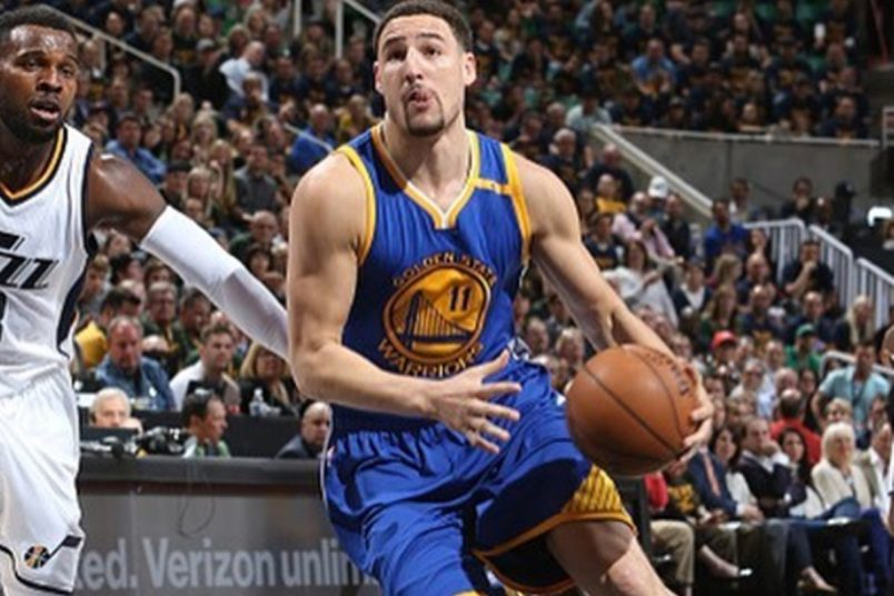 Klay Thompson Gets Denied By Rim in China