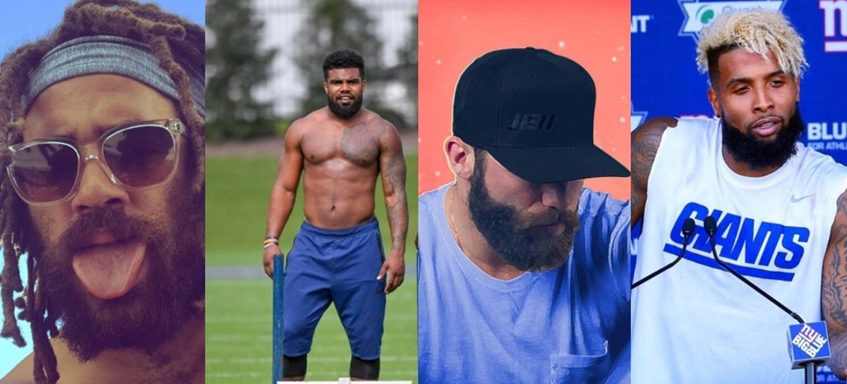 10 Sexiest Abs, Chest, Bods and Bearded NFL Players