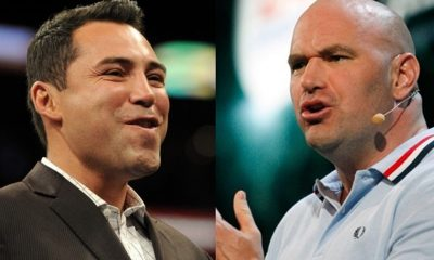 Oscar De La Hoya FIRES SHOTS at Dana White