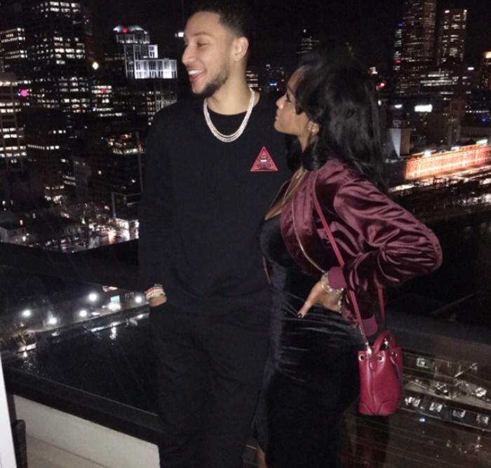 Philadelphia 76ers Ben Simmons Shows Off Hot Girlfriend
