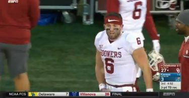 Douche of The Day: Sooners QB Baker Mayfield