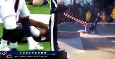 IR: Texans D'Onta Foreman Gruesome Injury; Ochocinco Falls Hard