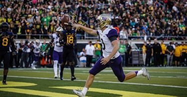 Jake Browning Got Absolutely Leveled