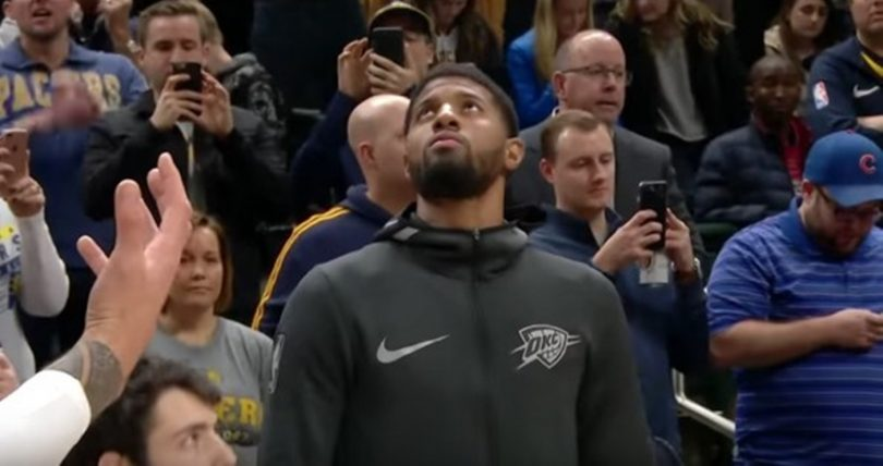 Paul George Booed in Indiana; Yeah They NOT Feeling Him