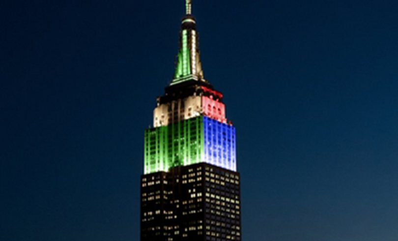 Empire State Building Receives Backlash for Eagles vs Patriots Colors