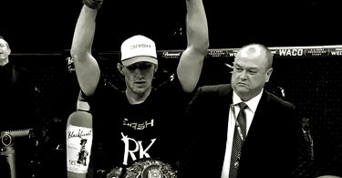 Rory MacDonald Won Bellator with Disgusting Leg Injury