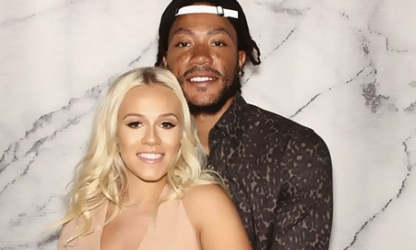 Derrick Rose Secretly Married and Expecting First Baby