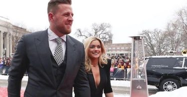 JJ Watt Honor with Walter Payton Man of The Year & Houston Hero