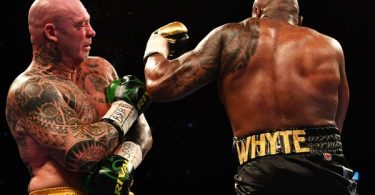 Lucas Browne Hospitalized After Dillian Whyte KO