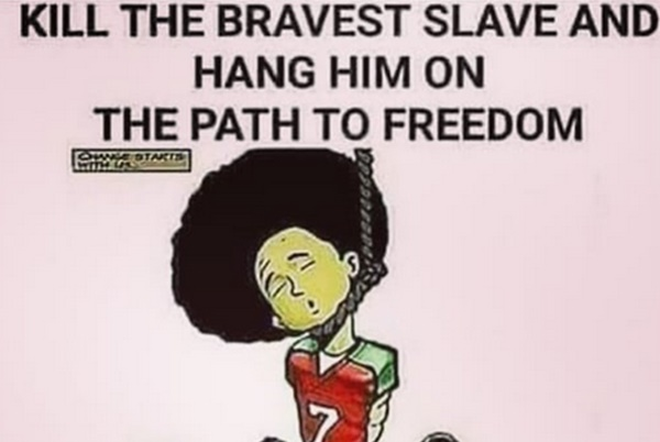 Kaepernick Falls Victim to Lynching Meme