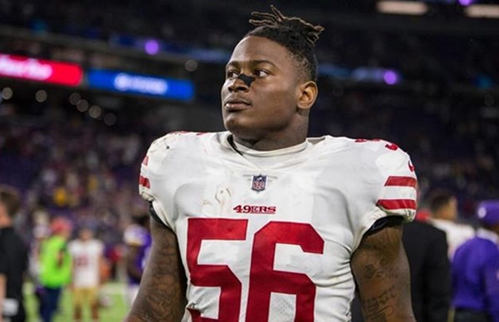 49ers Star Reuben Foster Charged With Felony Domestic Violence