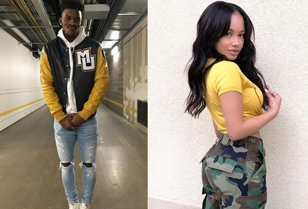 Jimmy Butler New Girl Connected to NFL Baller
