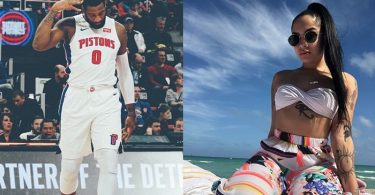 Andre Drummond Vacay with Smokin' Hot Girlfriend