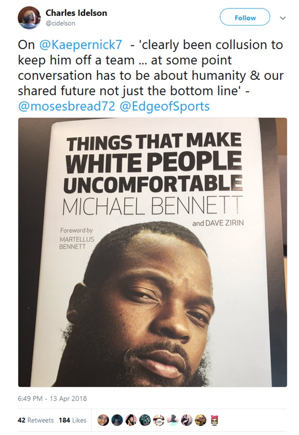 Michael Bennett Things That Make White People Uncomfortable Reviews