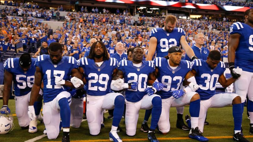 NFLPA Files Grievance Over NFL's Anthem Policy